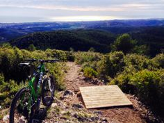 mtb at Garraf ,Barcelona , Spain.