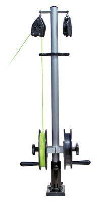 Bert's Custom Tackle Double Reel Planer Board Mast System - 6'