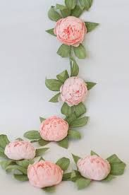 Resultado de imagen para paper flower garland