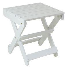 Adirondack Side Table - Solid Wood Furniture @ ManchesterWood.com
