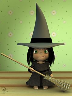 Little Witch by Eyesblue62.deviantart.com on @deviantART