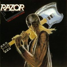 Razor - Executioner's Song (1985). In your face, mesozoic Thrash metal