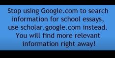 Better way to search for information!