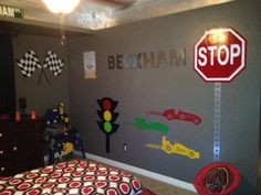 racing theme bedroom | playrooms, bedrooms and race car room