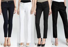 Pants for Hourglass-shaped women