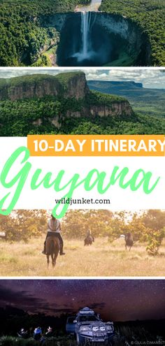 Planning a trip to Guyana? Here's a detailed Guyana itinerary from my friend Giulia Cimarosti who has just returned from an epic adventure in Guyana. Adventure Tours, Adventure Travel, Peru Travel, South America Travel, Trip Planning, Traveling By Yourself, Travel Inspiration, Outdoor Adventures, 10 Days