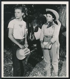 1950's Original Photo ANNETTE FUNICELLO & TIM CONSIDINE Disney MOUSEKETEERS