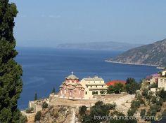 Starting the 4 day climb up sacred Mt. Athos #Greece #culturaltourism #travelwriter #GreekOrthodox #monastery @visithalkidiki @visitgreecegr #ifwtwa