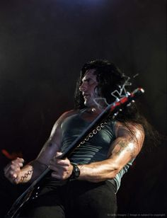 Image detail for -EINDHOVEN, NETHERLANDS - MAY 17: Peter Steele of Type-O Negative performs on stage on May 17th 1997 in Eindhoven, Netherlands.