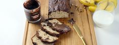 Schoko Bananenbrot Bon Appetit, Cake Chocolat, Banana Bread, Healthy Lifestyle, French Toast, Brunch, Low Carb, Sweets, Snacks