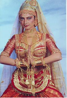 Rekha known as Ice Queen, she was a true trend setter, Noted for her versatility and acknowledged as one of the finest actresses in Hindi cinema (wiki), her entry to Bollywood was very controversial in a movie called njana Safar in 1969