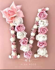 Excited to share the latest addition to my #etsy shop: Floral letter