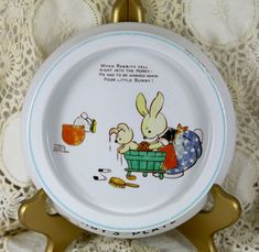 Shelley Mabel Lucie Attwell Nursery Ware Bone China by Ariamel, $150.00