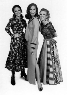 Valerie Harper, Mary Tyler Moore and Cloris Leachman in The Mary Tyler Moore Show