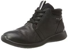 Ecco Damen Soft 5 Stiefel, Schwarz (Black), 35 EU