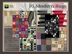 Modern Rugs by Angela • Sims 3 Downloads CC Caboodle