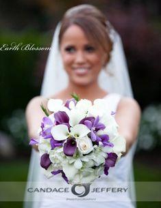 Purple Wedding Flowers Photos on WeddingWire