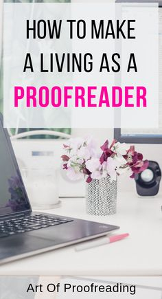 If you love to read consider yourself a word nerd and have an eye for detail proofreading or copyediting may be for you. Find out how you can proofr Earn Money Online, Make Money Blogging, Online Jobs, Money Tips, Managing Money, Saving Money, Work From Home Tips, Make Money From Home, Way To Make Money