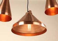 Image result for copper pendant light uk