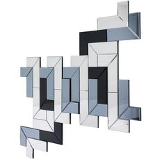 This multi-shaded mirror in three colours will make a great feature for your wall. It has two pieces that can be hung together or seperately. · Mirrored glass · Comes in two parts. Contemporary Wall Mirrors, Modern Mirrors, Sofa Design, Interior Design, Dfs, Home Accessories, Modern Furniture, Glass, Inspiration
