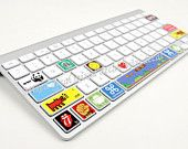 Shortcuts decal keyboard sticker - macbook keyboard decal by MixedDecal on Etsy, £1.99 GBP
