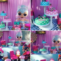 Lol Surprise Dolls. Lol Surprise Birthday Party. Lol Surprise Birthday Cakes. Lol Surprise Dolls Birthday Party.