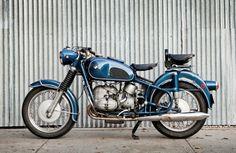 Blue heaven: A 1969 BMW R69s from US custom workshop Moto Borgotaro.
