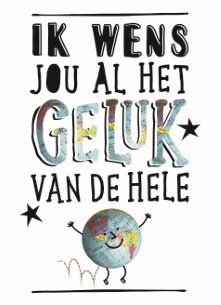 I wish you all the luck in the world in dutch! :) I wish you all the luck in the world in dutch! Thank You Quotes, Wish Quotes, Me Quotes, Birthday Quotes, Birthday Wishes, Birthday Cards, Fb News, Dutch Quotes, Postcard Printing