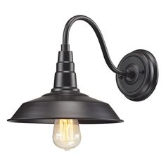 Urban Lodge 1-Light Sconce in Oil Rubbed Bronze