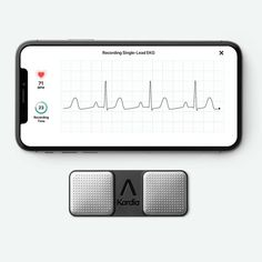 AliveCor KardiaMobile and KardiaMobile FDA-cleared, medical grade EKG recorder. iPhone and Android smartphones. Six-lead EKG. Ekg Leads, Ipad Mini, Iphone 5 Ios, Compatibility Chart, Heart Care, Normal Heart, Heart Rhythms, Atrial Fibrillation, Blood Vessels