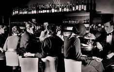 A speakeasy crowd, 1920s...one of my favorite decades to study