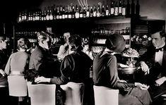 A speakeasy crowd, 1920s