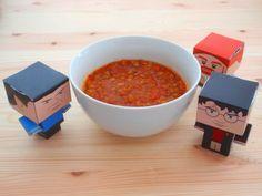 Aneta Goes Yummi: Indická paradajkovo-šošovicová polievka Soup, Tableware, Dinnerware, Dishes, Soups, Place Settings, Chowder