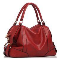 Popular Selling Handbags For Women Pu Leather Bag Women's Brands Leather Handbags Ladies Cheap Brown Messenger Shoulder Bags