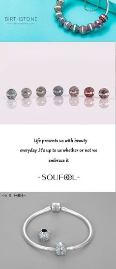 If you want to give a truly personal gift, look for a nice bracelet with their birth stone for a girl. Birthstone charms bracelet from Soufeel Jewelry.