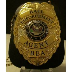 Bail Enforcement Agent Badge with Leather Holder, Belt Clip & Neck Chain Listing in the Badges. Novelty & Replica,Police,Historical Memorabilia,Collectibles Category on eBid United States Enforcement Agent, Law Enforcement Badges, Crypto Coin, Crypto Market, Neck Chain, Police Patches, Law And Order, Badge Holders, Class Ring