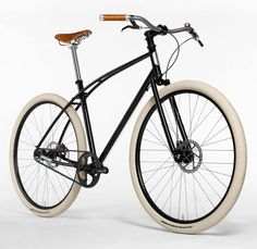 Titanium and Steel Urban Bicycles by Paul Budnitz | Design Milk - for this bike, I might learn how to ride!