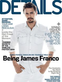 James Franco the Cover Model: From GQ to Vogue image thefashionisto.com james franco