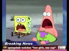 Holy Balls - Spongebob and Patrick Jaw drop   Meme ...