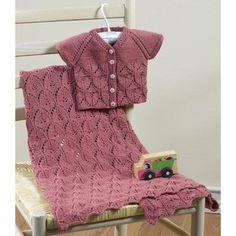 Valley Yarns 633 Aprilis Baby Blanket