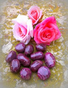 Gem quality tumbled rubies the stone of life by TheSageGoddess, $15.00
