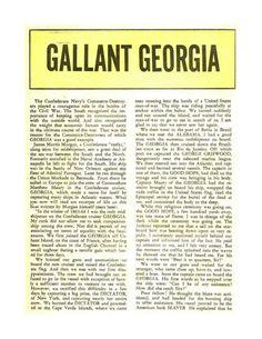 Gallant Georgia - Civil War