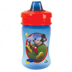 Mickey Mouse 10oz Travel Lock Soft Spout Spill-Proof Sippy Cup 1-Pack