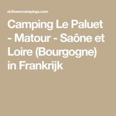 Camping Le Paluet - Matour - Saône et Loire (Bourgogne) in Frankrijk