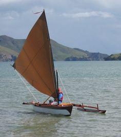 Wa'apa a three board sailing canoe. Very similar to my Malibu Outrigger.