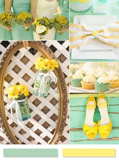 whimsical-mint-and-yellow-summer-wedding-ideas.jpg (599×811)