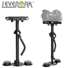 Sevenoak SK-SW02N Pro Professional Steadycam Action Stabilizer (up to 3kg) for Canon Nikon Gopro Sony Camera Camcorder