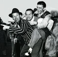 Bing Crosby, Bob Hope, Frank Sinatra