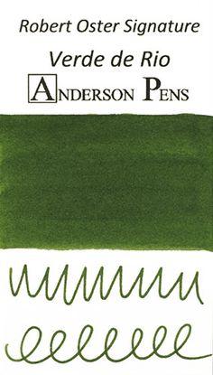Robert Oster Signature Verde de Rio Fountain Pen Ink Sample (3ml Vial)
