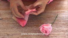 Paper Roses of Papieren Rozen maken